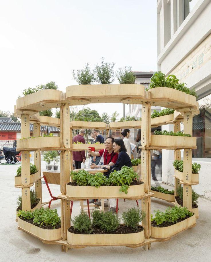 Galerie Des Open Source Plans Fur Eine Modulare Stadtische Gartenstruktur Bietet Ein Flexibles Design Fur Lokal A Gartenstruktur Gartenplanung Gartenstrukturen