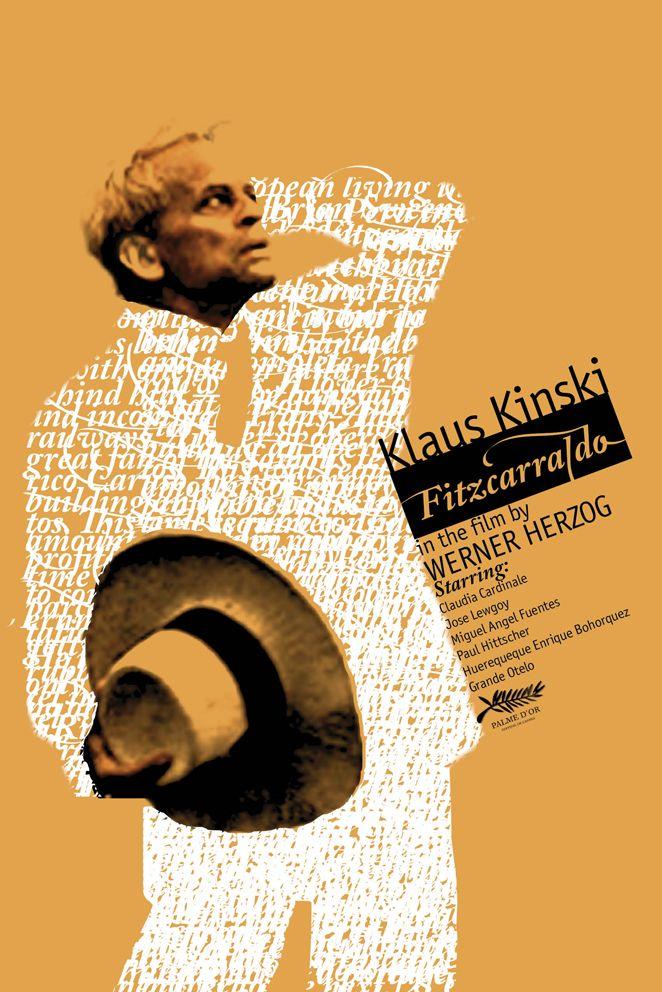 """MP781. """"Fitzcarraldo"""" Alternative Movie Poster  (Werner Herzog 1982) / #Movieposter"""