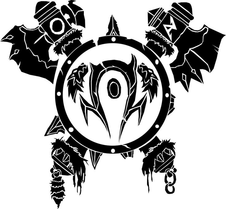 Orc Crest by ropa-to on deviantART