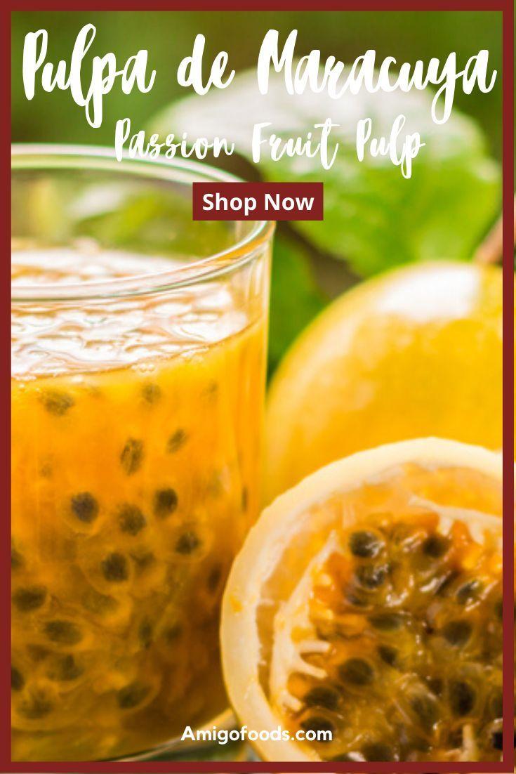 Pulpa De Maracuya Passion Fruit Pulp Refrigerate After Open