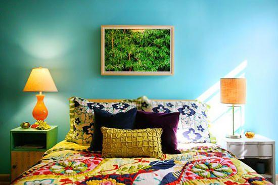 Cores para quarto de casal qaurto azul quartos for 6 x 8 bedroom ideas