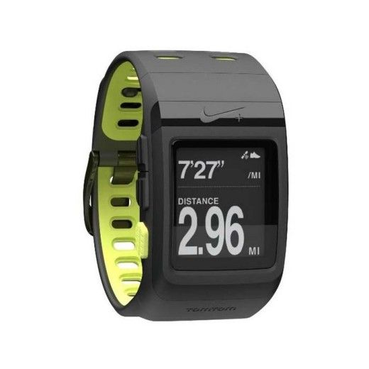 Nike+ SportWatch GPS Powered by TomTom (Black/Volt)