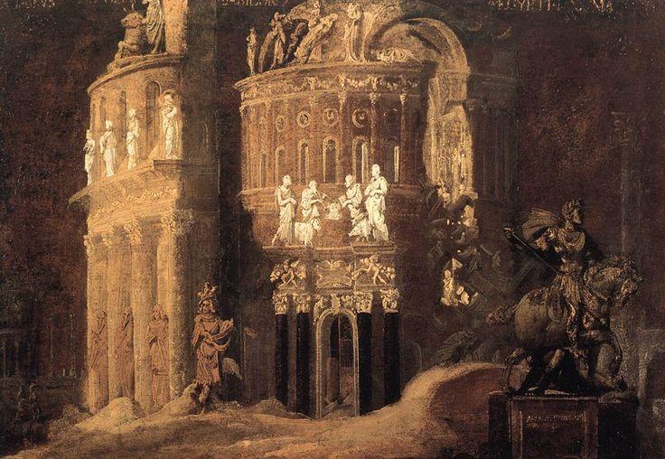 """"""" Landscape with Roman Ruins, François de Nomé """""""