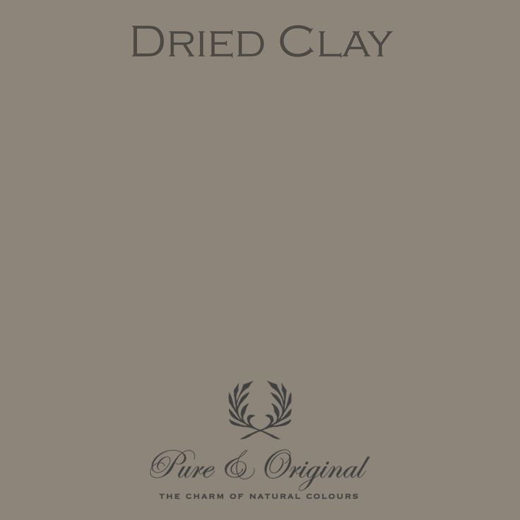 Color Dried Clay - available in Kalkverf, Krijtverf, Lime paint, Chalk paint, Kritt maling, Kalk maling, Kreide Farbe, Kalk Farbe, Floorpaint, Vloerverf and much more. Colored with 100% mineral pigments.