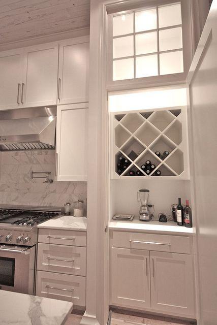 Wine bar kitchens pinterest custom cabinets classic for Custom wine bar
