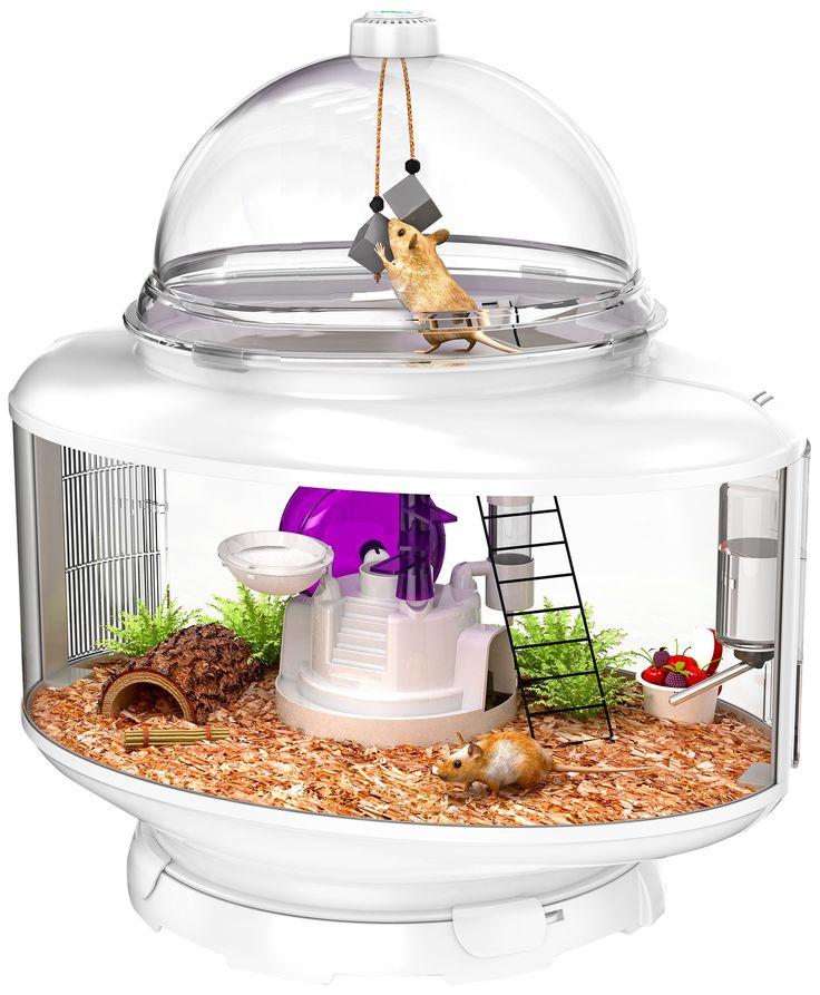 Bio Bubble Terrarium Small Animal - White