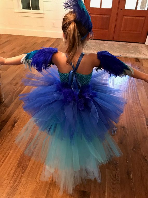 Parrot traje traje de Guacamaya tutú de loro halloween por TheTwirl