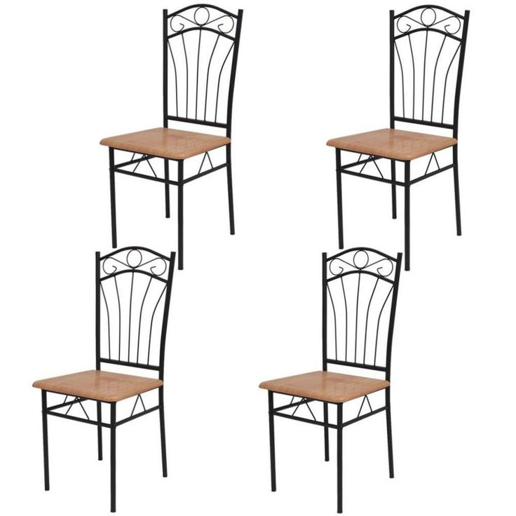 Set Of 4 Dining Room Chairs Contemporary Modern Stylish Design Home Furniture