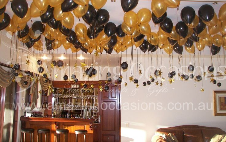 30 best images about dada b day on pinterest gold for Decoration 60th birthday party