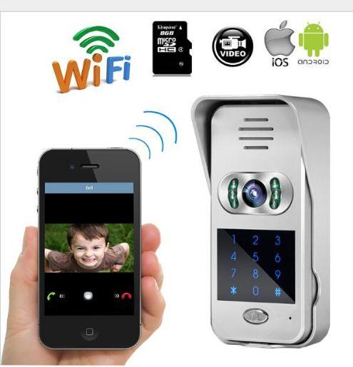 Wifi Doorbell Doorphone With 720P Camera Video Intercom Wireless IP Door Phone Door Bell Interphone Visiophone