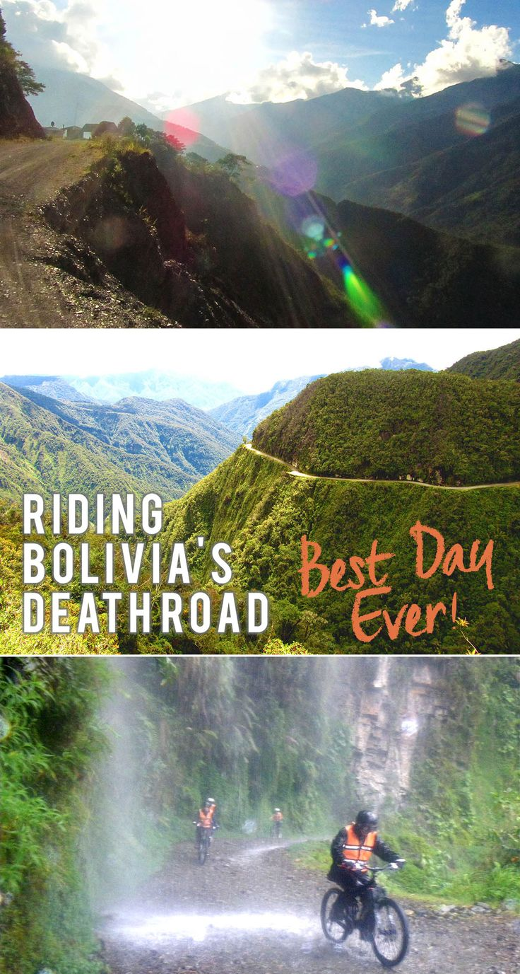 Riding Bolivia's Death Road by Mountain Bike, also known as the World's Most Dangerous Road, massive adrenaline rush in South America! Travel Blog