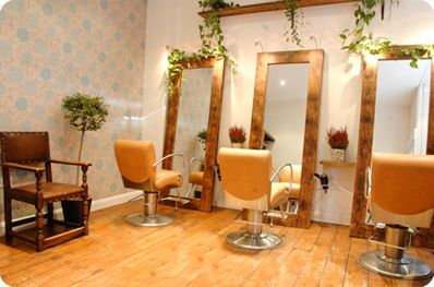 Small Salon Design | Malishi is a small independent hair salon in Snowsfields that takes ...: