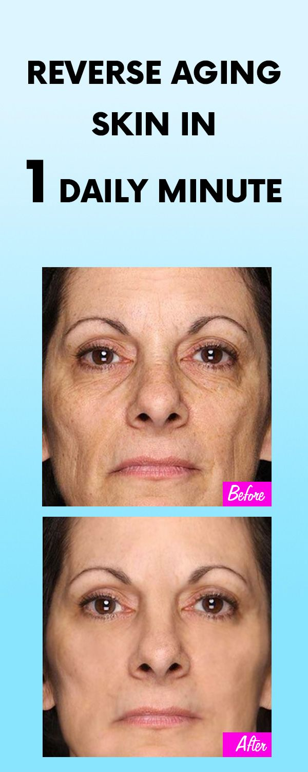 Reverse Aging Skin In 1 Daily Minute