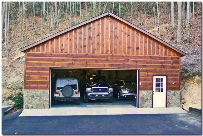 17 best images about cabin garage on pinterest garage for Cabin garage