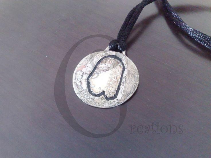 Tina's Creations - Handmade Jewels & More!: 7€ Αιγυτπιακό κρεμαστό / Egyptian pendant