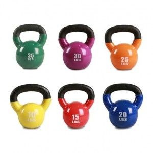 10 different moves you can do with your kettlebell for a full body workout.