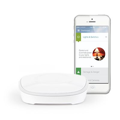 I did a LOT of research into various home automation hubs and ended up with SmartThings to do all sorts of cool things in the house. I love this stuff!   SmartThings | Home Automation, Home Security, and Peace of Mind