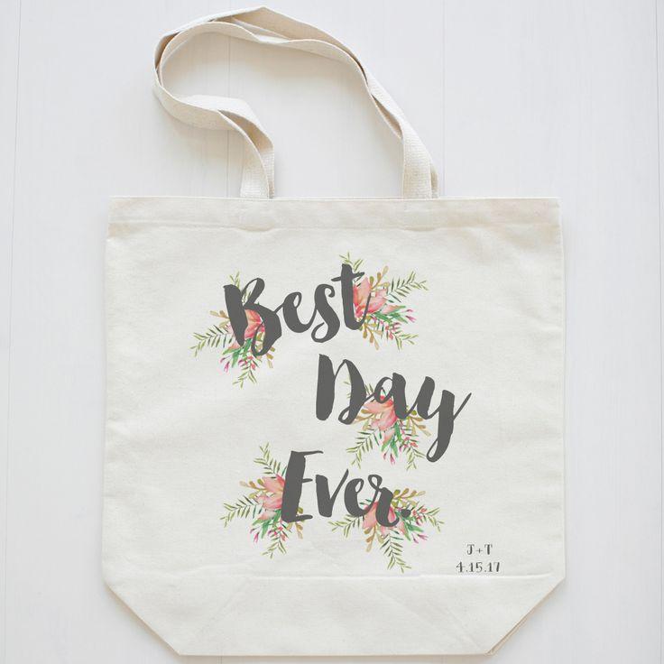 Best Day Ever Premium Wedding Tote