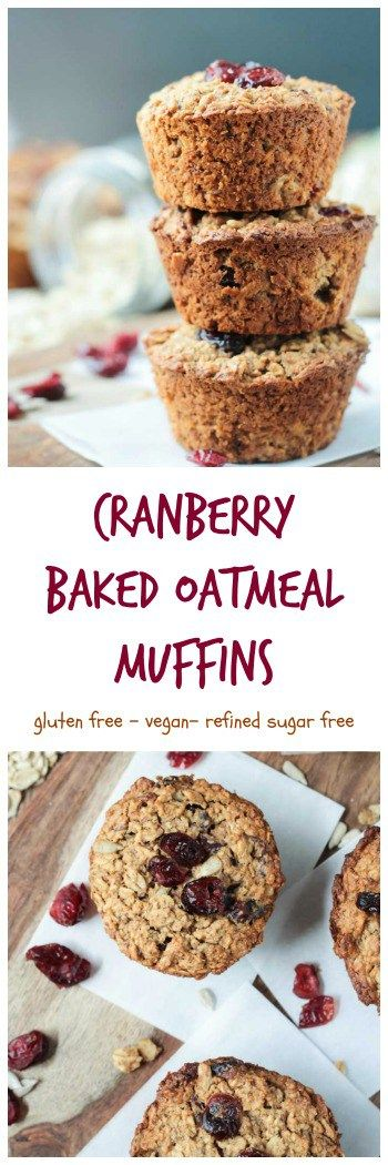 Baked Oatmeal Muffins on Pinterest | Oatmeal Muffins, Baked Oatmeal ...