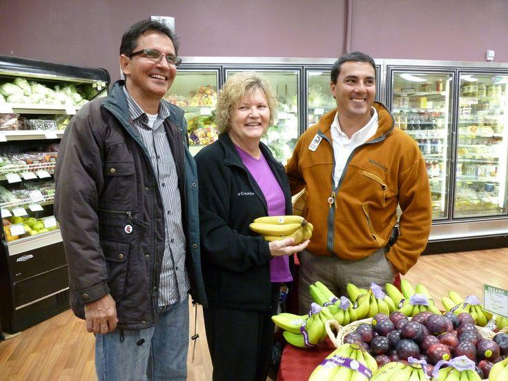 Felipe Echeverri Zapata Chicago 2012 con Jorge Willima Restrepo Banana Fairtrade comercio justo