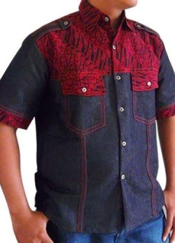 Informasi Seputar Batik: Kemeja Batik Denim