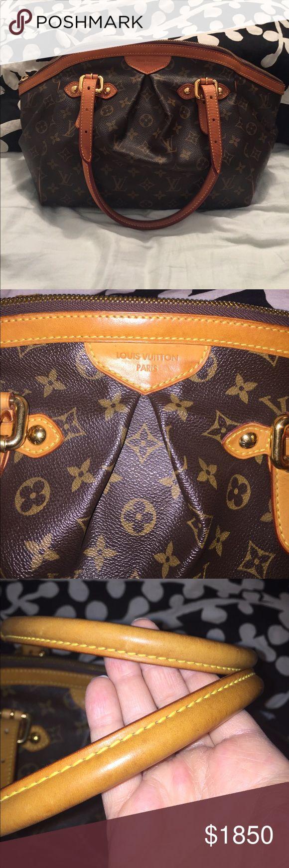 ❤️LOUIS VUITTON TIVOLI GM❤️ XTRA pictures of GM Tivoli Louis Vuitton Bags