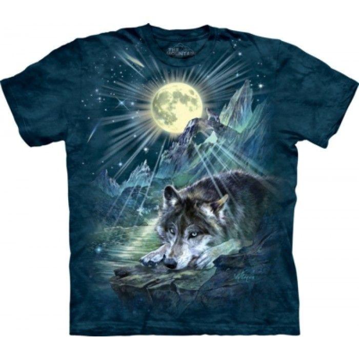 Tricouri The Mountain – Tricou Wolf Night Symphony