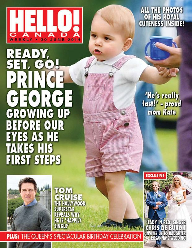 prince George on polo match hello magazine cover - Buscar con Google