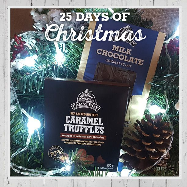 Chocolate! Farm Boy Caramel Truffles make the perfect stocking stuffer for the serious cocoa lover on your list. Slip a creamy Farm Boy Chocolate Bar into their stocking as a second delicious surprise. #FB25daysofChristmas bit.ly/2gYxWhy