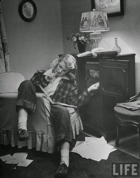 Портреты американских девочек-подростков, 1944