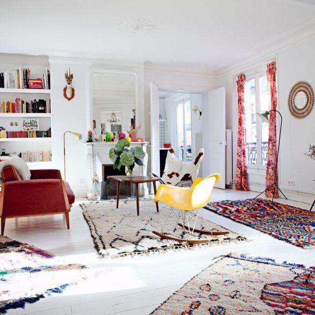 Un tapis Kilim chez Secret Berbère