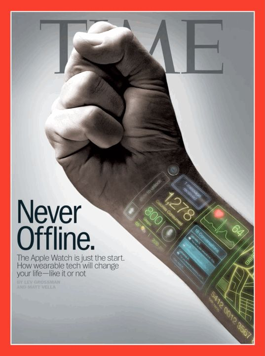 """""""The Apple Watch represents a redrawing of the map that locates technology in one place and our bodies in another."""""""