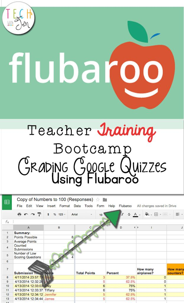 Using Flubaroo to Grade Your Google Quizzes