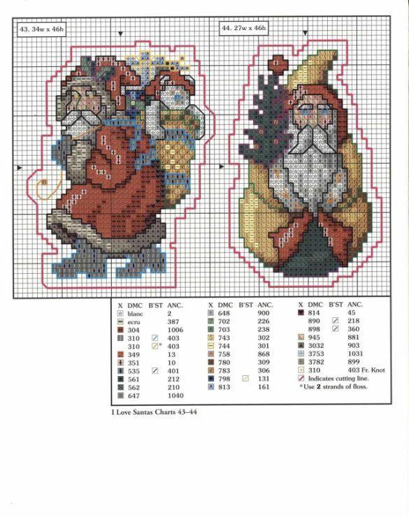 Free Christmas Cross Stitch Patterns | Gallery.ru / Photo # 194 - 4 - Fleur55555