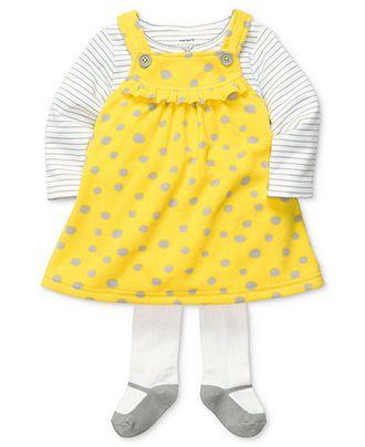 yellow dress 0 3 months hite tights