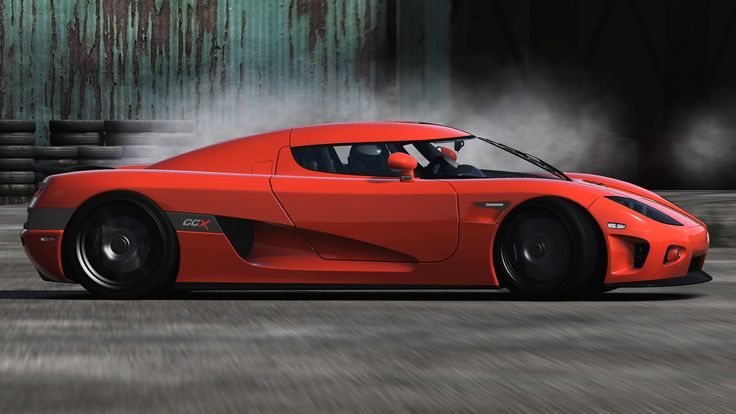Red Koenigsegg CCX Edition