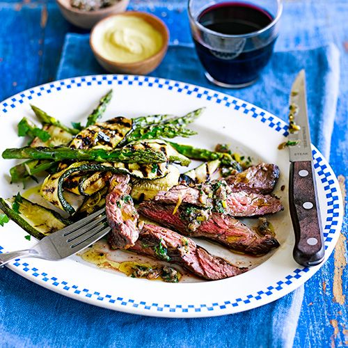 Steak met ansjovisboter recept - Jamie magazine