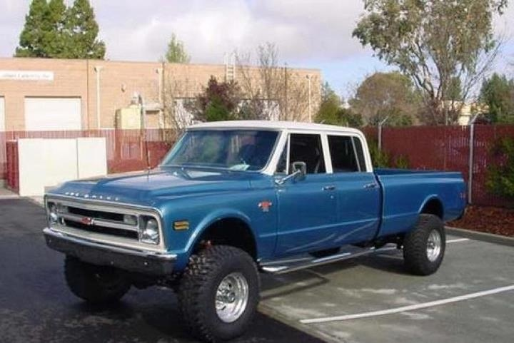 1967 Ford Stepside Bed