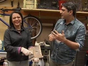 Dica de como restaurar móveis (Foto: TV Globo) …