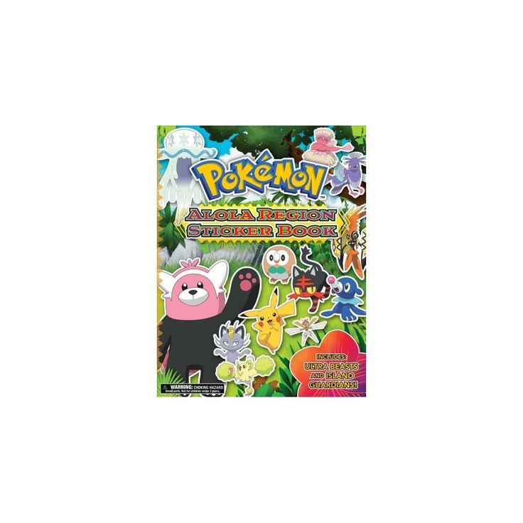 Pokémon Alola Region Sticker Book (Paperback)