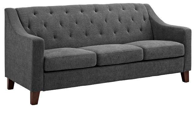 Target Threshold Felton Sofa 449 Tufted Sofa Gray Sofa Sofa