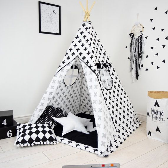 25 beste idee n over tipi kinderen op pinterest kinder. Black Bedroom Furniture Sets. Home Design Ideas