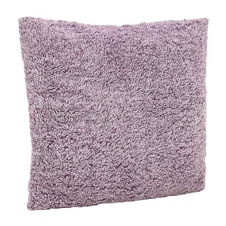 SYNTHETIC FUR CUSHION COVER IN PURPLE COLOR 60X60 - Furs - FABRIC ITEMS