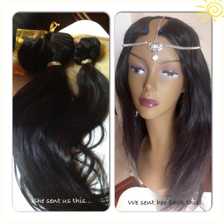 how to make sew in wig