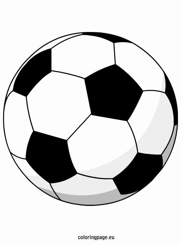Soccer Ball Coloring Page Elegant Soccer Ball Soccer Ball