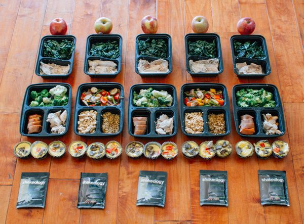 Almost every weekend, Amanda Meixner preps her meals and shares her photos on Instagram. Her simple photos remind us meal prep doesn't have to be hard.