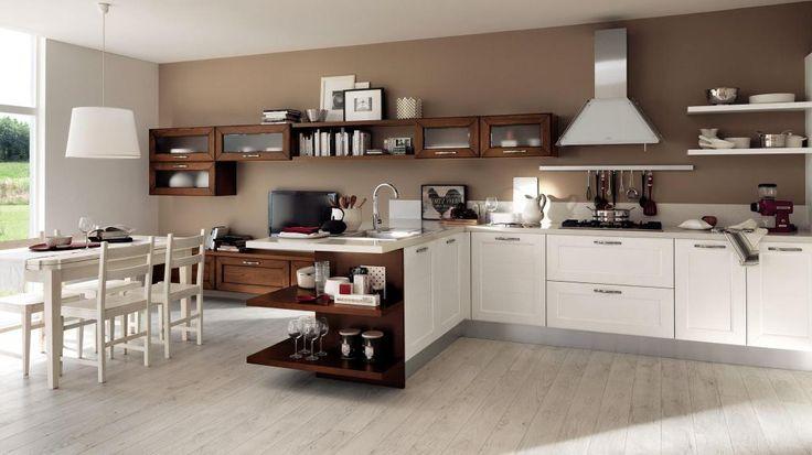 ti piacciono le atmosfere luminose?  questa #cucina @MobiliSparaco  è quella giusta per te!
