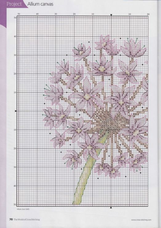 Gallery.ru / Photo # 54 - The world of cross stitching 167 - tymannost Allium 2/3