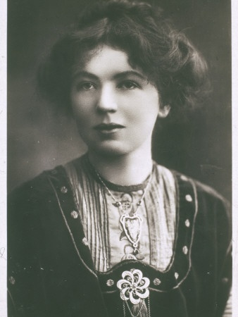 "Christabel Pankhurst: 1880-1958; Christabel (daughter of Emmeline Pankhurst) advocated the use of militant tactics to win the vote for women in England.  Pankhurst, with Annie Kenney, unfurled a banner reading ""Votes for Women"" at a Liberal Party meeting in 1905.  Her action received world-wide attention after they were thrown out of the meeting.  The two were arrested and sent to prison.  Christabel then directed a campaign that included physical action, hunger strikes, and huge rallies."