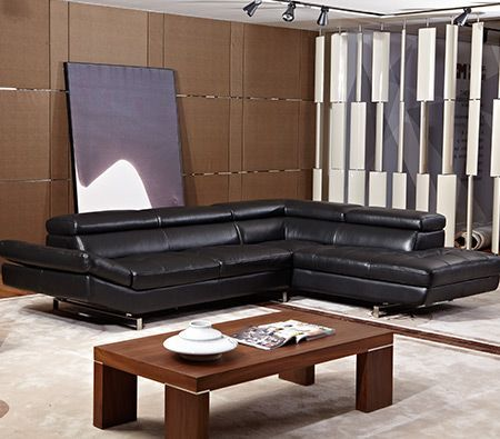 Black Genuine Leather Sofa - Visit http://www.crazysales.com.au/black-genuine-leather-sofa.html